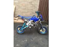 Road legal Pitbike pit bike registered as a 50cc got 125 engine like Dt yz cr rs etc