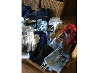 Bundle of boys clothes age 10/12 years