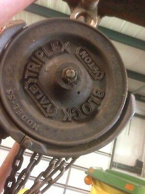 Yale 12 Ton Chain Hoist