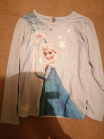 Long sleeved frozen tshirt