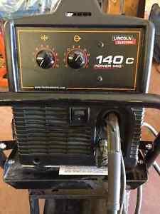 Lincoln 140C MIG Welder w/cart