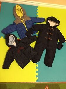 Winter Jackets and Snowsuit 6-12months