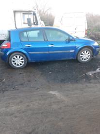 Renault megane breaking for spares 56 plate