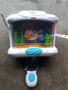 Free today - fish tank for crib