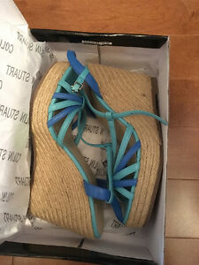 Brand new espadrilles wedge - never worn - size 7