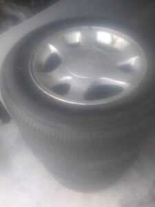 Mustang Alloy Rims and Tires