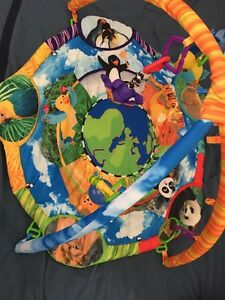 Baby Einstein playmate with musical toy and accessories $20