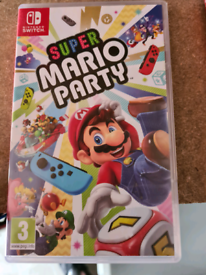 Mario party for Nintendo switch