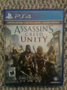 Brand New Assassin's Creed Unity PS4