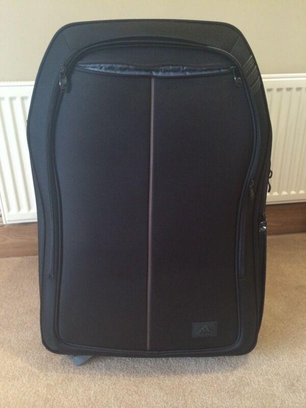 timeless design edab4 1acc6 ... new style large black adidas suitcase 61dc7 78390
