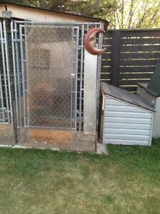 2 Dog Insulated houses and runs