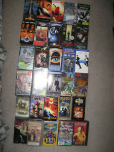 30 VHS movies for $5-Stars Wars,Lord Of The Rings,Sopranos box