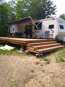 2008 36ft Forest River Sandpiper trailer