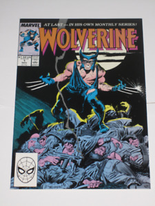 Marvel Comics Wolverine#1 1st ongoing series comic book