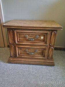 elegant solid wood dresser