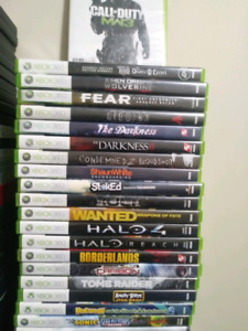 Xbox 360 games and box sets..OFFERS
