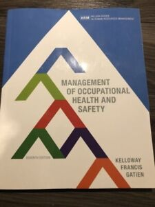 Management of occupational health and safety. 7th edition.
