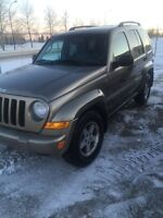 2005 Jeep Liberty with 4wd