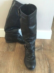 Black knee high boots - Size 6.5