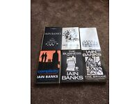 Selection of Iain Banks books