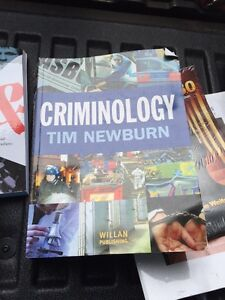 First year criminalolgy texts