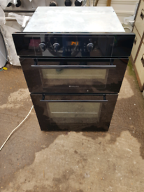 Hotpoint DY46K double electric oven built in 60cm