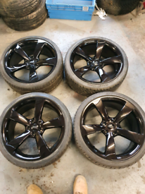 19 inch audi rotor style alloys 5x112