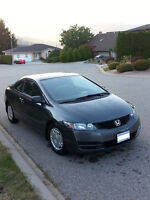 2009 Honda Civic 2DR Coupe !!LOW KMs!!