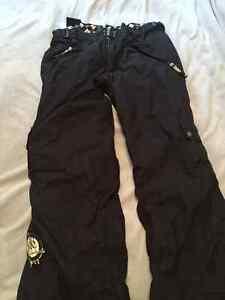 Kids Black snow pants  - xl Prince George British Columbia image 1