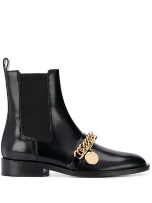 Givenchy Chain Detailed Chelsea Boots IT36 US6 -