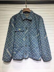 Supreme x Louis Vuitton denim jacket/shirt