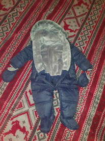 Baby snowsuit, 9-12 month