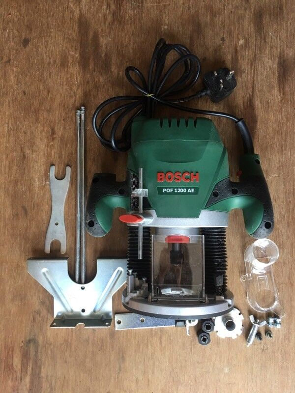 Bosch pof 1200 ae plunge router in worthing west sussex gumtree bosch pof 1200 ae plunge router keyboard keysfo Gallery