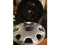 Steel wheels and wheel covers to fit VW polo