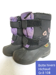 Botte hivers fille Hichaud gr. 8