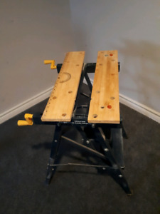Folding work bench Mastercraft