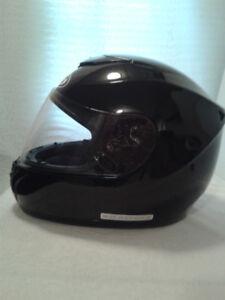 HJC Black Full Face Helmet Size  6 1/2 - 7 Hardly Used