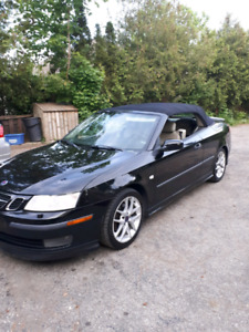 For sale  2005 Saab 9-3  Areo Convertible  call 519 580 5609 or