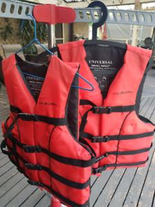 Life jackets × 2