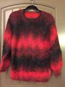 Homemade mohair sweater
