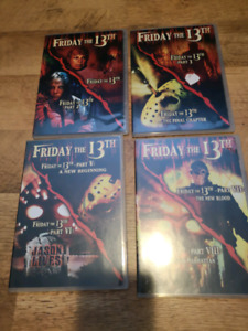 FRIDAY THE 13TH COLLECTION DVD PARAMOUNT YEARS