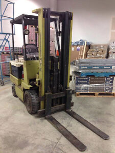 Electric Forklift with 2 Chargers