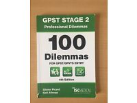 100 dilemmas for GPST entry ISCmedical