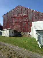 Barn, Out Building Painting Deck and House Painting or Staining