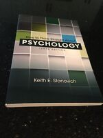 How to think straight about psychology textbook