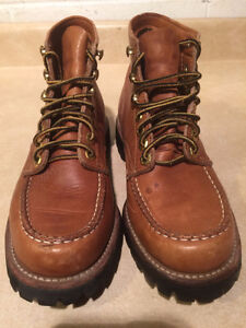 Women's Nerman Leather Hiking Boots Size 5 London Ontario image 4