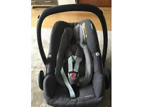 From birth pebble plus car and carry seat