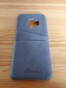 S9 leather wallet case