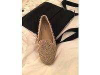 Very bling Steve Madden shoes - size 7