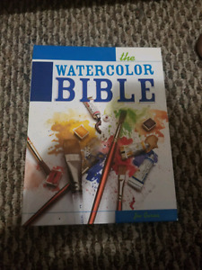 Water Colour bible for sale!